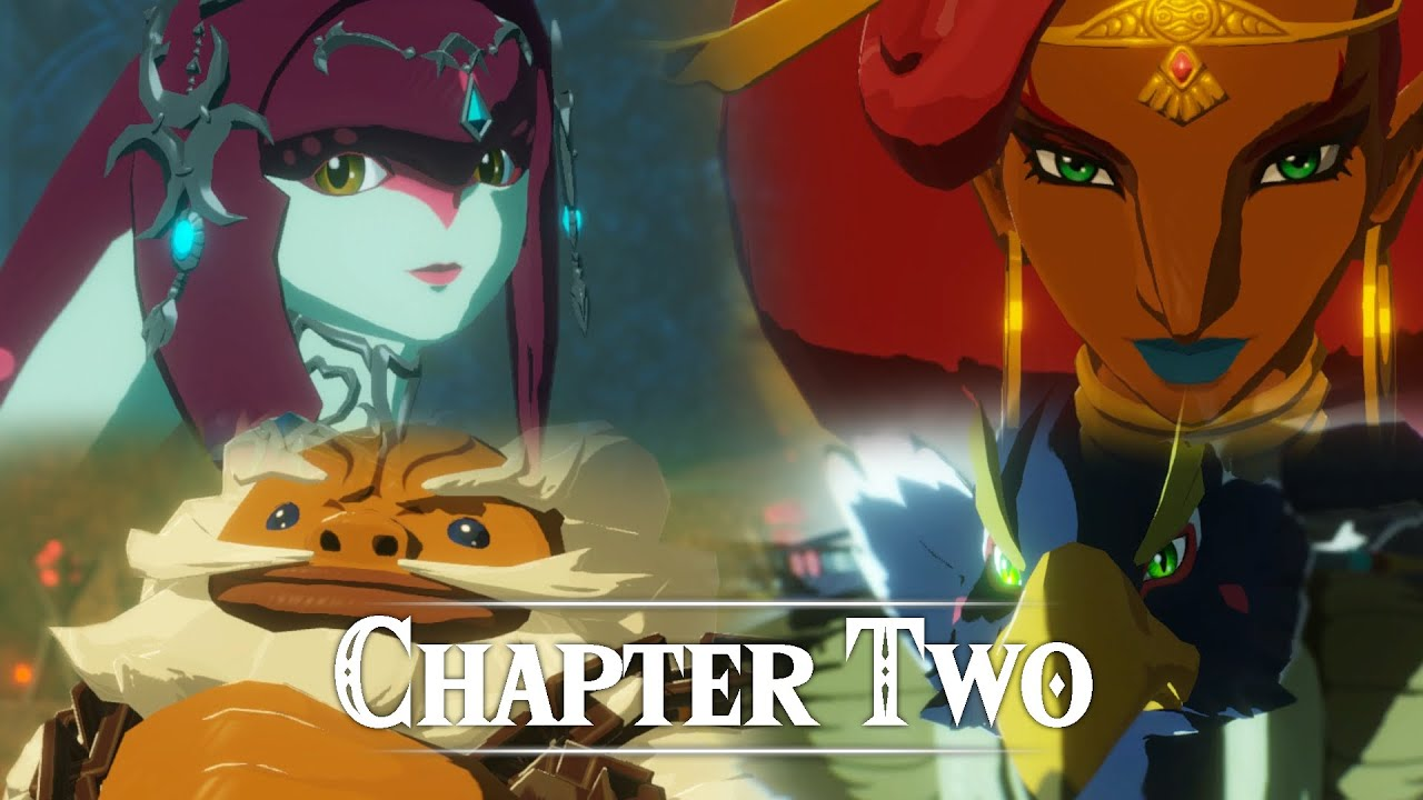 All Chapter 2 Cutscenes Hyrule Warriors Age Of Calamity Youtube