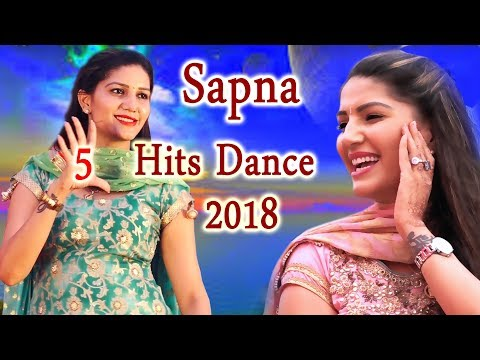 Sapna Chaudhary का पहली बार Top 5 Superhit Dance एक साथ | 2018 के Most Viral Video | Trimurti