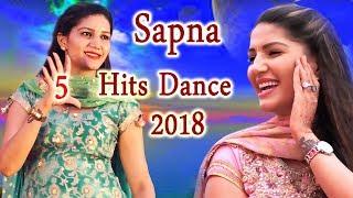Sapna Chaudhary का पहली बार Top 5 Superhit Dance एक साथ | 2018 के Most Viral | Trimurti