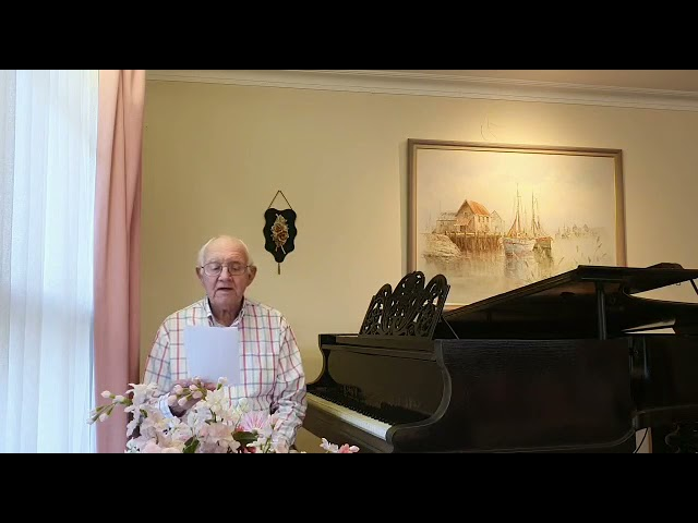 The Wonder of Jesus - Peter McLean Hymns 25th April 2021