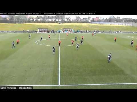 Malaysia U13 0-2 Manchester City FC U13