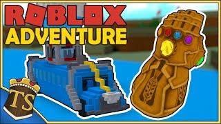 Dansk Roblox | Build A Boat For Treasure - Fortnite Battle Bus!