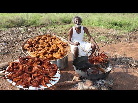 ANGRY BIRD FRY !!! Quail Fry Prepared by my Daddy Arumugam / Village food factory