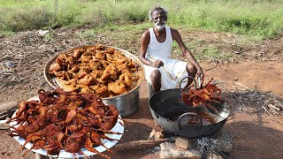 ANGRY BIRD FRY !!! Quail Fry Prepared by my Daddy Arumugam / Village food factory