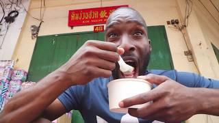Beatmaking and food tasting in ChinaTown Bangkok