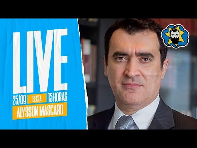 Live: Política, crise e golpe, com Alysson Mascaro