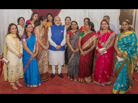 PM Modi at an Interaction with the Indian Community in Tanzania