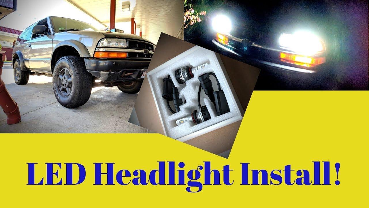 S10 Blazer Led Headlight Upgrade