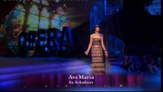"Pop Star to Opera Star : Week 4 - Marcella Detroit sings ""Ave Maria""."