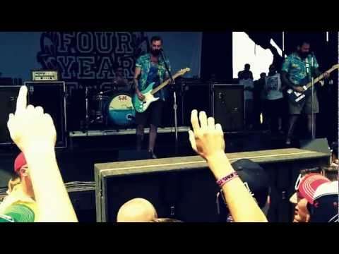 Four Year Strong - Tonight We Feel Alive (OaS) @ Warped Tour 2012 (St. Louis) HD