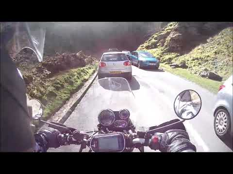 Royal Enfield Himalayan day out to cheddar and weymouth testing the new cylinder head.