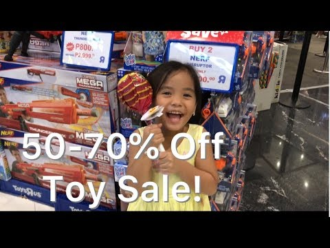 50-70% OFF Branded Toys Super Sale | Toy Haul Toys R Us Robinsons Galleria