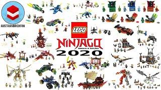 All Lego Ninjago Sets 2020 - Lego Speed Build Review