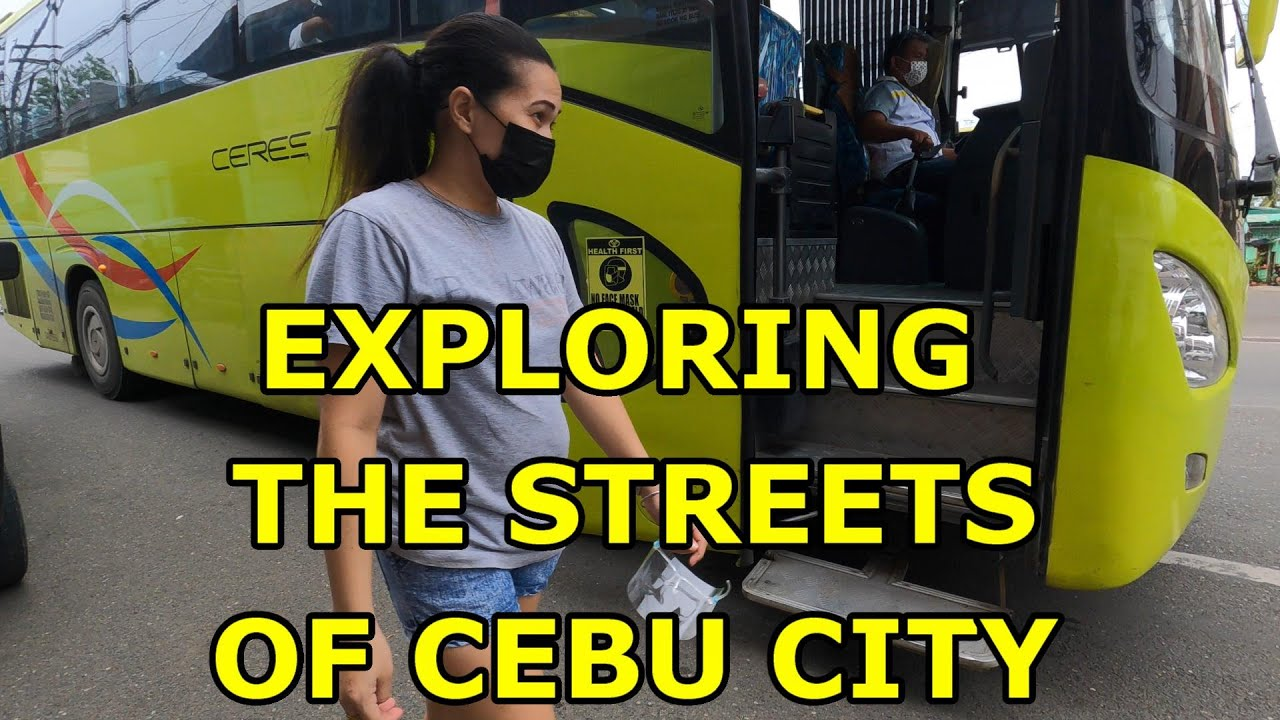 EXPLORING THE STREETS OF CEBU CITY, CEBU DOWNTOWN TO UPTOWN MANGO SQUARE