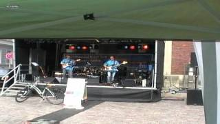 Die Wassermänner in Stralsund