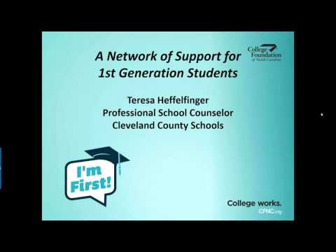 Support Network for First Generation Students
