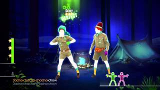 Just Dance 2015-WHAT DOES THE FOX SAY?(Campfire Dance)11707 points W/ SOUNDS(HD)