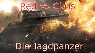 Die Jagdpanzer | Red vs Ckris - MGC Battle | World of Tanks Blitz