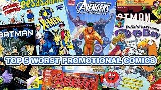 Top 5 Worst Promotional Comics