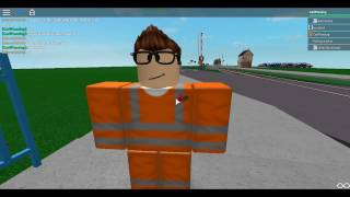 ROBLOX | Tour of Clapton Level Crossing and Swing Bridge 24/12/16