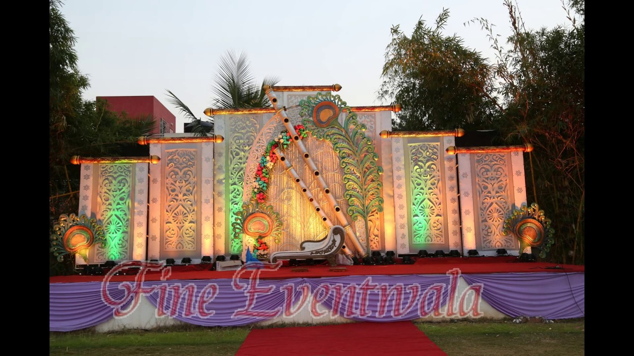 Wedding Stage Decoration Pune 1 Mobile 9762114742 9881083582
