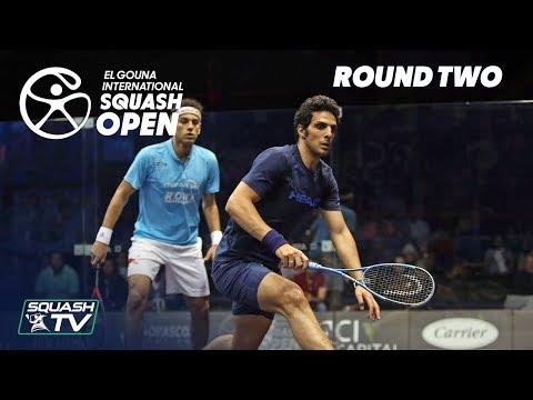 Squash: El Gouna International 2018 - Men\'s Rd2 Round Up [P1]