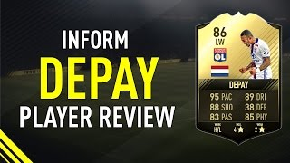 FIFA 17 TIF DEPAY (86) PLAYER REVIEW