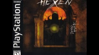 Hexen:Beyond Heretic PS1 gameplay