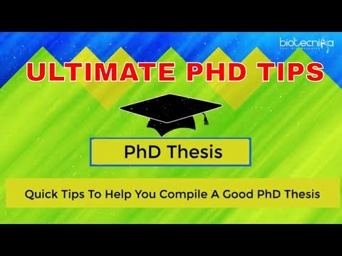 PhD Thesis - Writing and Editing Services