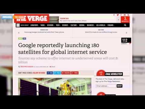 Elon Musk Enters Internet Satellite Space Race