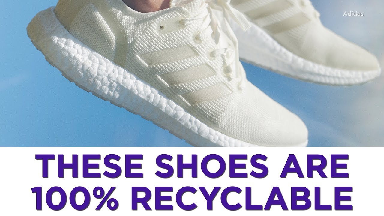 These shoes are 100% recyclable - YouTube