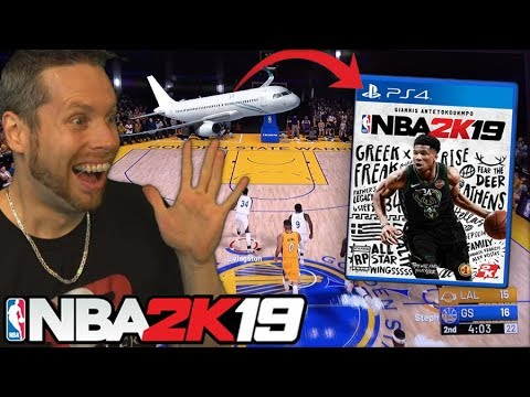 I PLAYED NBA 2K19 EARLY! VISITING 2HYPE HOUSE! VLOG!