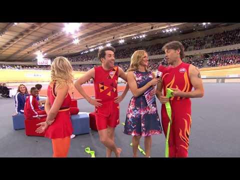 John Bishop vs Sebastian Coe in Clash of the Titans: event three | Sport Relief 2014