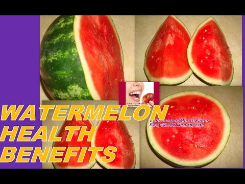 13 Health Benefits of Watermelon
