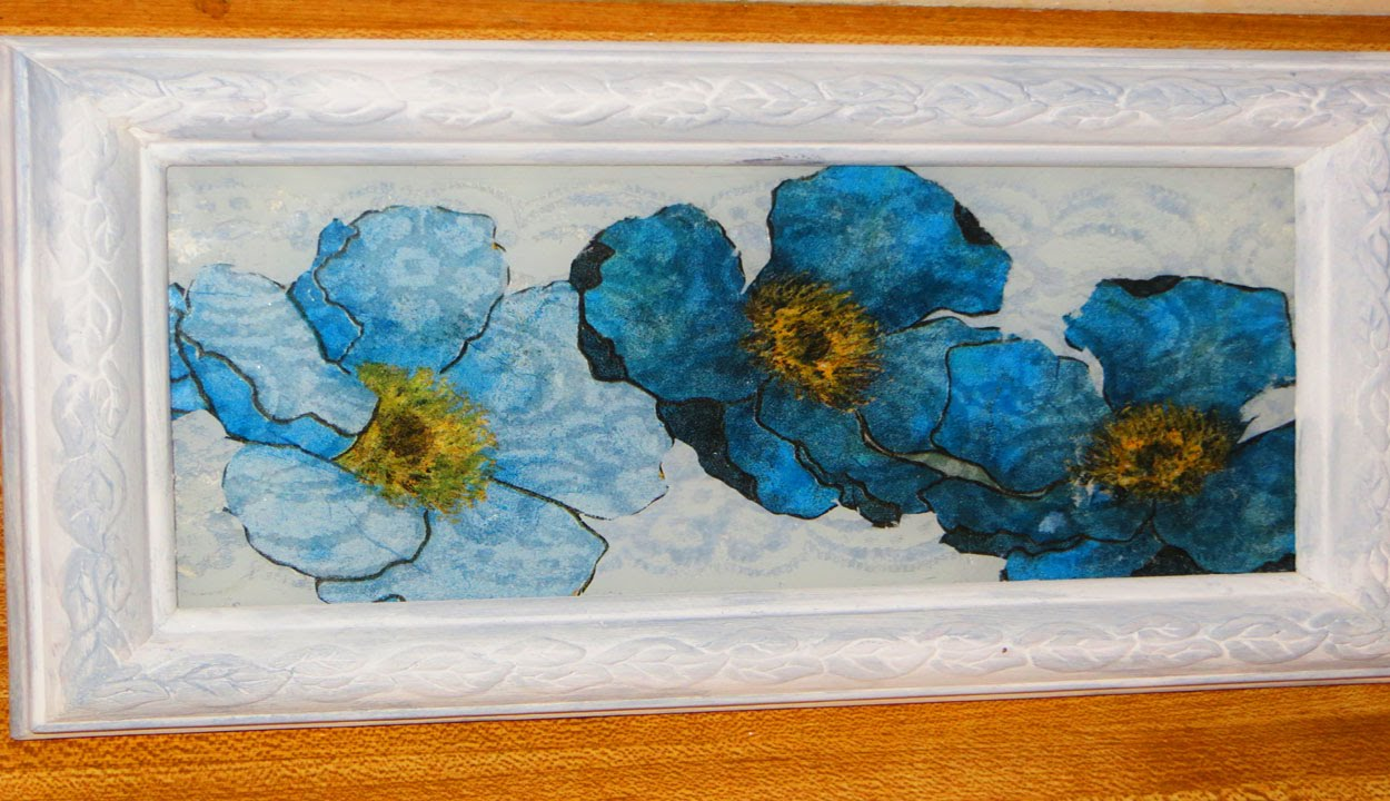 Diy decoupage old picture in frame to new youtube jeuxipadfo Image collections
