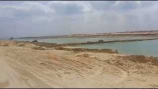 See the new Suez Canal, March 19, 2015 East entire sector