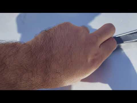 How to install costco Goodyear Hybrid Wiper Blades on Hyundai Sonata 2011 to 2017
