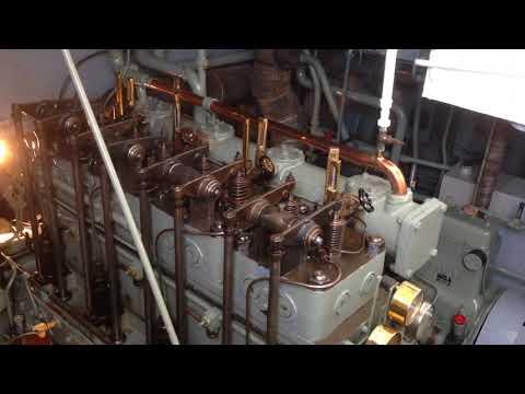 Schiffsdiesel MAK 4 Zylinder