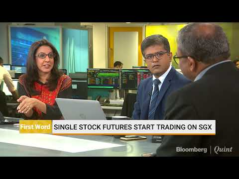 Single Stock Futures Start Trading On SGX