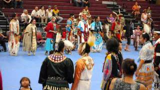 Lummi powwow ~ Round dance ~ Black Lodge ~ 6-11-11.