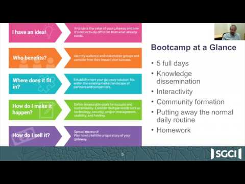 Special Edition Webinar: Science Gateways Bootcamp—Who Should Apply?