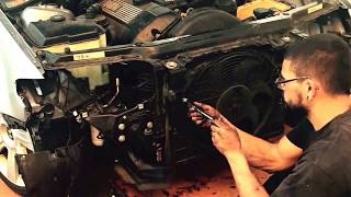 BMW 325I Radiator cracked and replaced