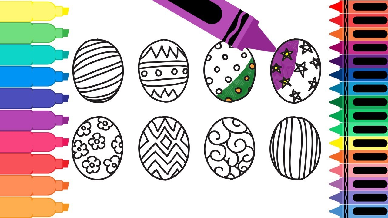 how to draw a easter egg