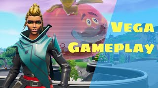 Vega Skin (Rouge) Gameplay - Fortnite - France Jeux DSDK