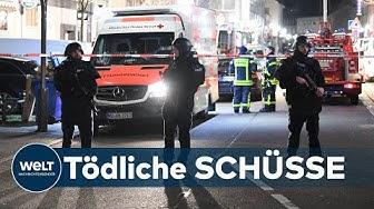 SHISHA-BAR MASSAKER: Insgesamt 11 Tote in Hanau - Mutmaßlicher Täter tot
