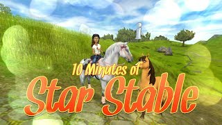 Gaming: 30 Minutes of Star Stable with Froggy | Search for Spirit | Massive Multiplayer Online