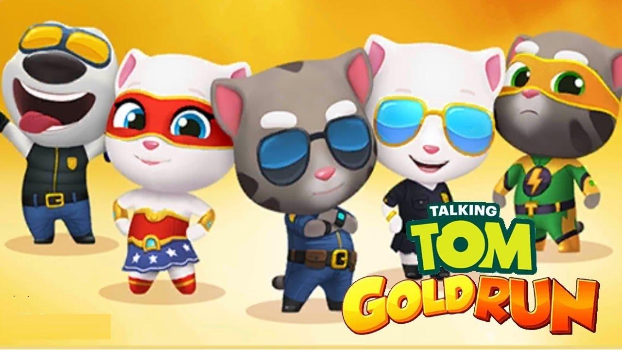 Chơi Mèo Tom chạy ăn vàng 10 phút không chết – cu lỳ chơi game lồng tiếng vui nhộn funny gameplay