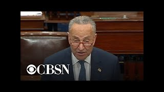 Chuck Schumer calls for witnesses and documents in Senate impeachment trial