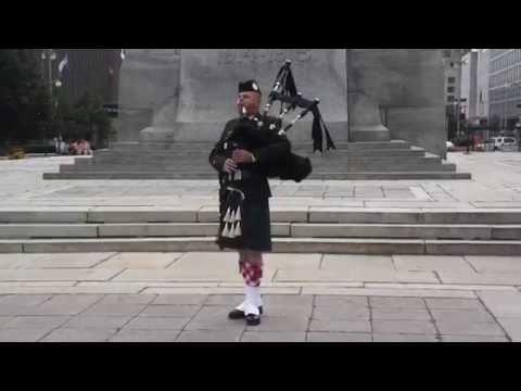 Bagpipes Performance @ National War Memorial