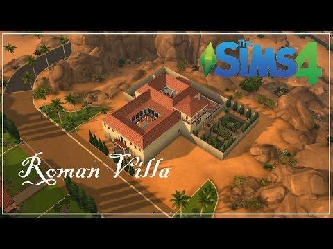 The Sims 4 Speed Build - Roman Villa
